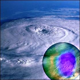 Buco di ozono in Antartide